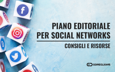 Piano editoriale per Social Networks