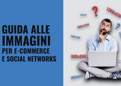 guida alle immagini per e-commerce e social networks