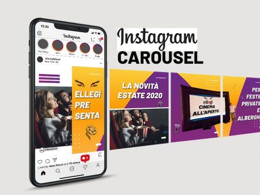 Ellegì Cinema Instagram Carousel